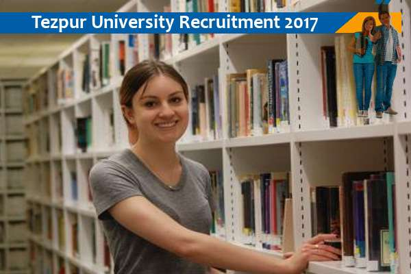 Tezpur University Recruitment for Library Trainees - Naukri