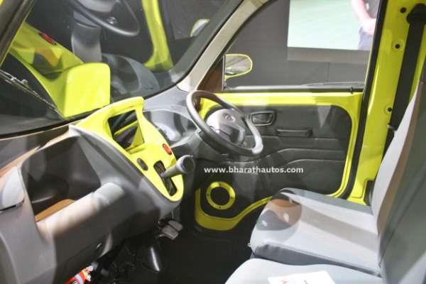 Tata Magic Iris Ziva Fuel Cell From 2016 Auto Expo Bharath Autos