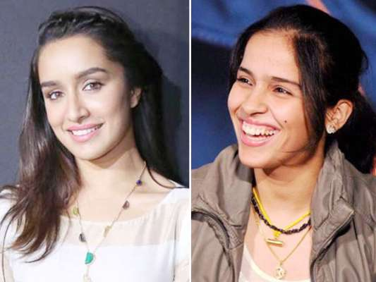 Do Shraddha Kapoor resembles as same as Saina Nehwal