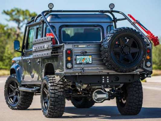 Presenting Project Viper - The Meanest Land Rover Defender By Far
