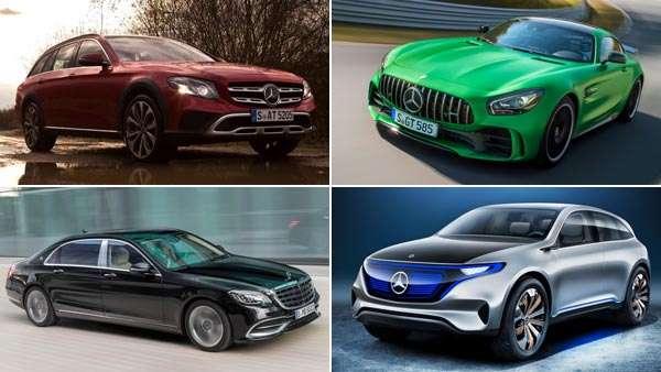 Auto Expo 2018: Mercedes-Benz India Reveals Its Lineup - To