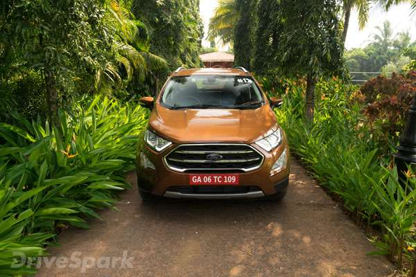 The Most Significant Change In The Facelifted  Ford Ecosport Is Present Under The Bulging Bonnet A Brand New Three Cylinder   Litre Naturally