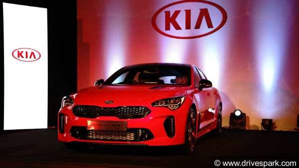 Auto Expo 2018 Kia Stinger Gt Showcased In India Live Updates