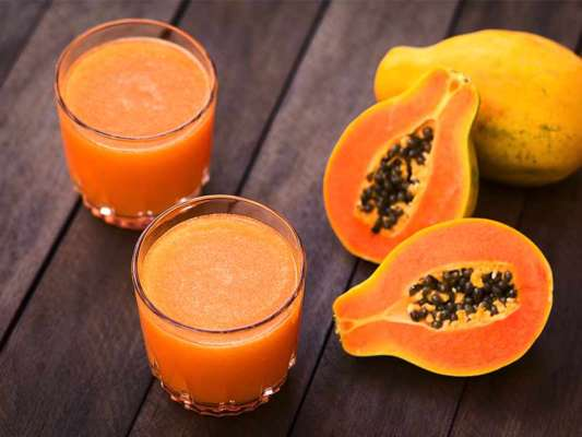 What are the health benefits of drinking of Papaya Juice