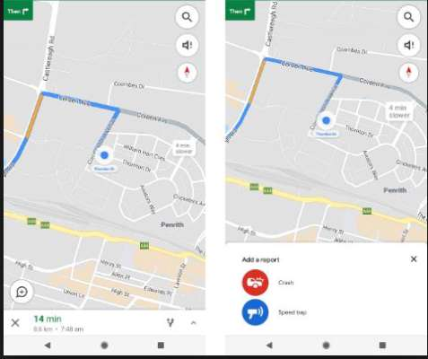 Accident, speed trap reporting feature on Google Maps - News24 ...