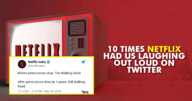 10 Times Netflix Had Us Laughing Out Loud On Twitter - RVCJ