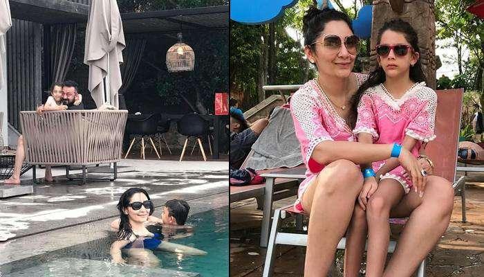 Sanjay Dutt Is On A Vacation With Family, Maanayata Dutt