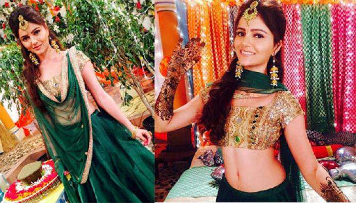 Rubina Dilaik's First Look From Her 'Mehendi' Ceremony Is