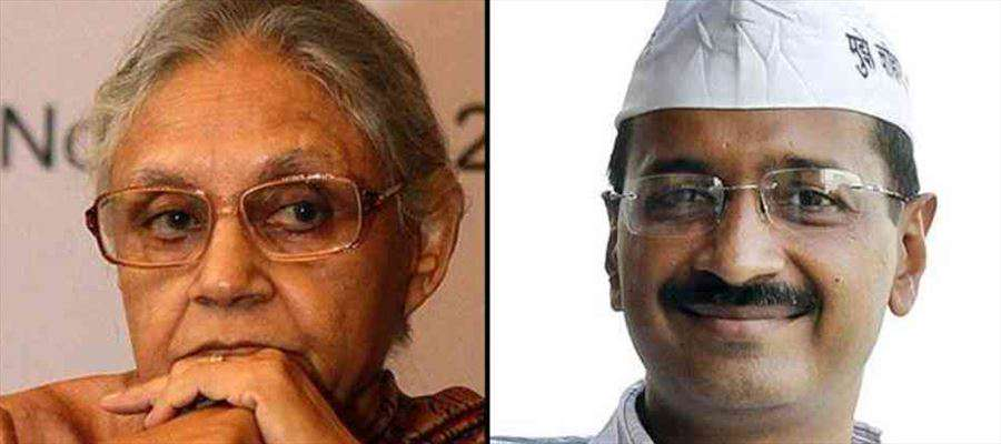 Sheila Dikshit asked Kejriwal why he was spreading rumors
