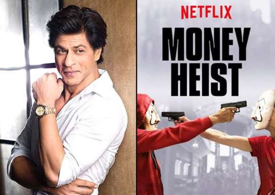 Shah Rukh Khan to remake Spanish series Money Heist into a