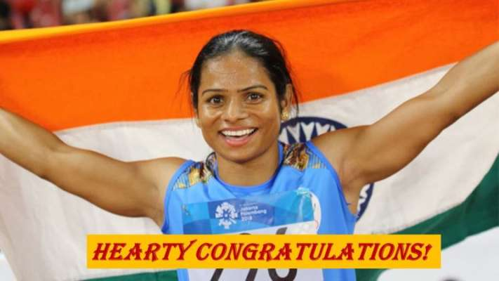 Marvellous! Dutee Chand Bags 100m Gold in Word Universiade
