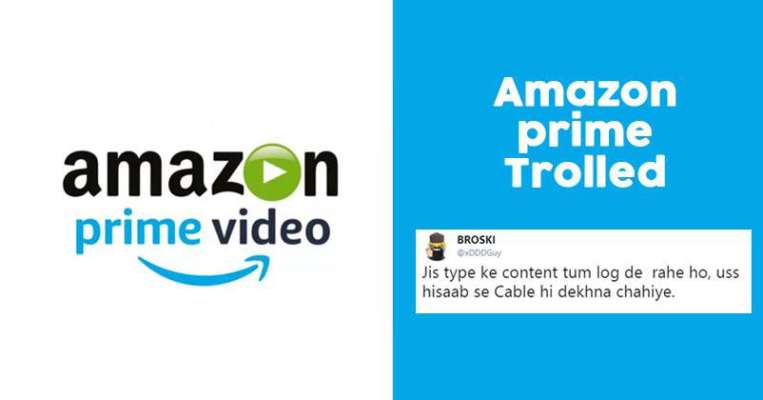 Amazon Prime Video India Gets Trolled While Trying To