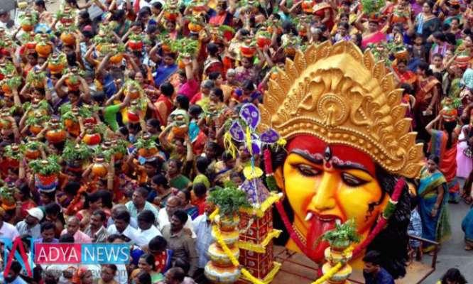 Hyderabad Set Huge BenchMark On Last Sunday Of Bonalu - Adya