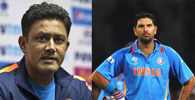 Yuvi gets permission to play in Global T20, Kumble calls it a big