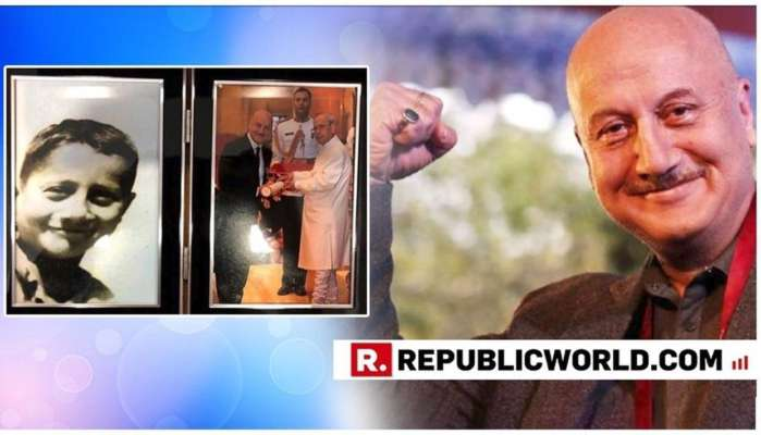Anupam Kher Reveals, 'Ranked 59/60 In School, Used Picnic Money For