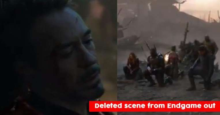 Deleted Scene From Avengers: Endgame Is Making People Cry, Iron Man
