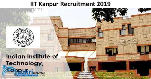 IIT Kanpur Senior Project Mechanic Recruitment 2019 - Naukri