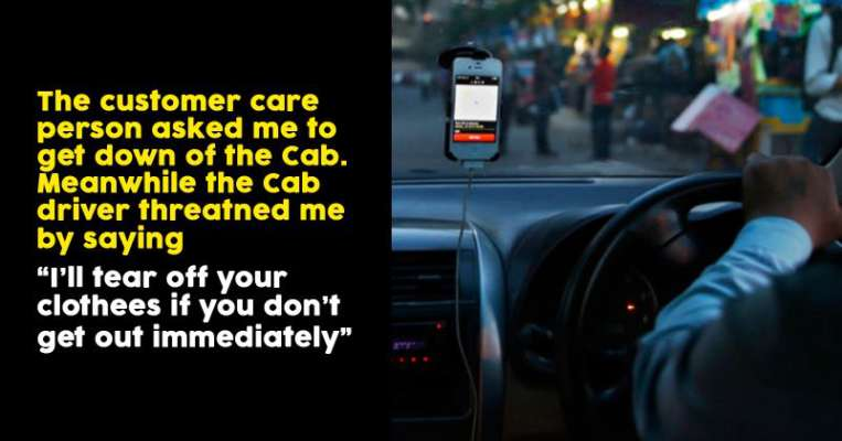 What Uber Driver Did With This Woman Passenger Is Terrible