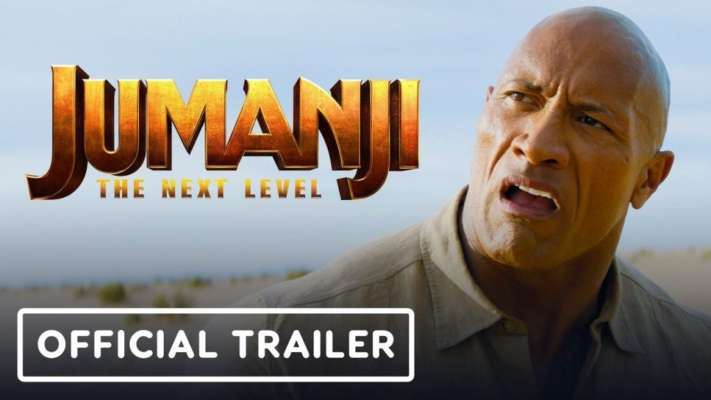 Catch Jumanji The Next Level Trailer - The Game is all set