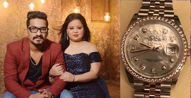 Bhartis Hubby Surprises Her With An Amazing Birthday Gift Rakhi