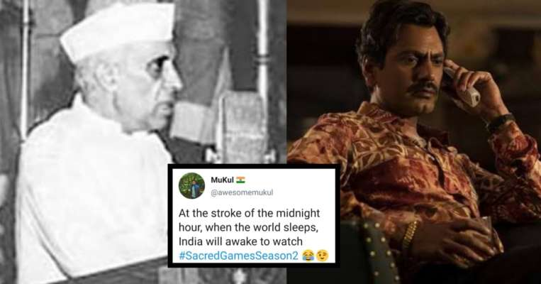Sacred Games 2: Desi Twitter Greets Bhagwan With Hilarious