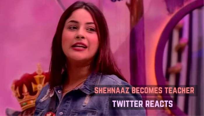 Bigg Boss 13 Shehnaaz Gill Turns Into An English Teacher