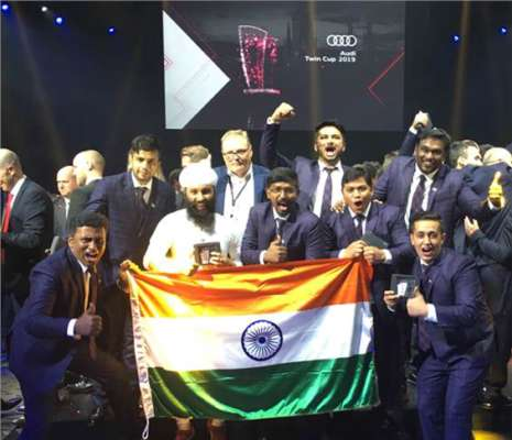 Audi India team wins second spot in global 2019 skills contest