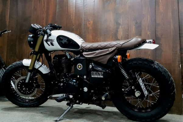 Meet the Octave, a Royal Enfield 350 turned into a CLEAN