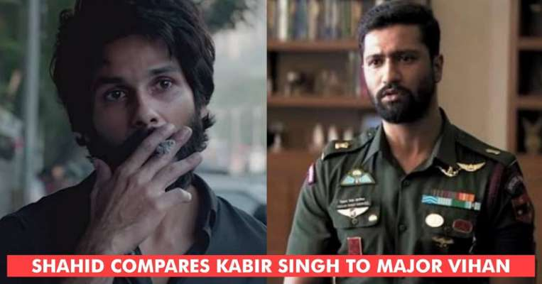 Shahid Kapoor Compares The Lead Characters Of Kabir Singh & Uri: The