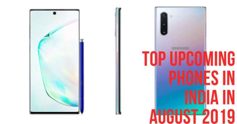 Upcoming mobile phones expected in India in August 2019: Samsung