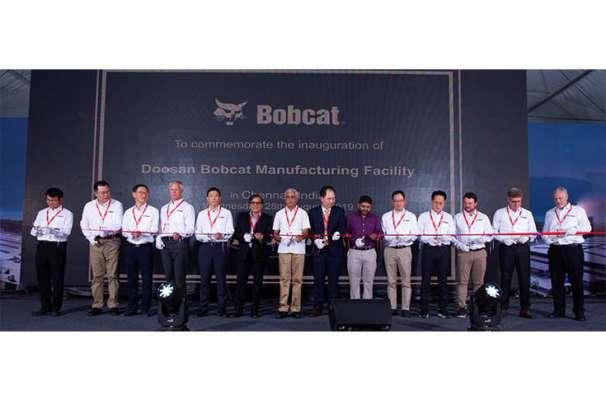 Doosan Bobcat sets up its first India plant in Chennai