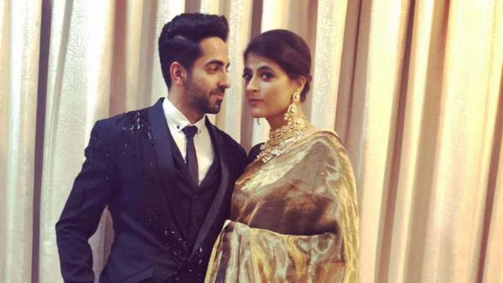 Ayushmann Khurrana gets surprised by wife Tahira Kashyap in the most
