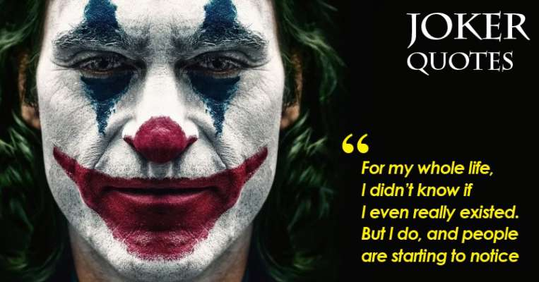 Joker Movie Quotes That Make You Think Hard About Life
