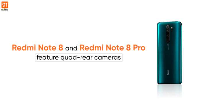 Redmi Note 8 Pro with 64MP quad camera and Helio G90T