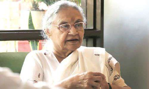 Once the longest serving Chief Minister of Delhi, Sheila Dixit, no
