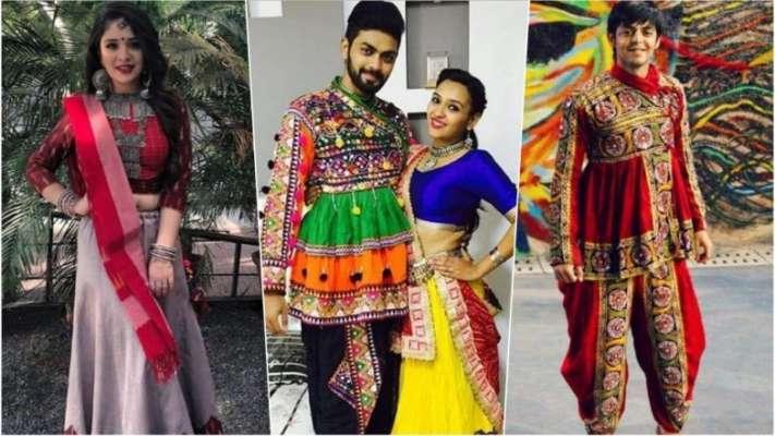 1d261555a46 Navaratri 2018 Outfits for Garba Nights  From Lehenga Choli to Kediyu  Dhoti