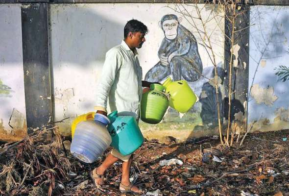 Chennai: 'Dial for water 2 0' to help get metro water lorry in two
