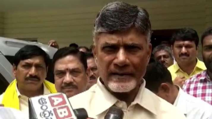 Image result for Telugu Desam leader Chandrababu Naidu says he cannot control me because of house arrest