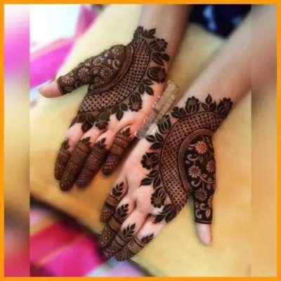 mehndi designs for janmashtami