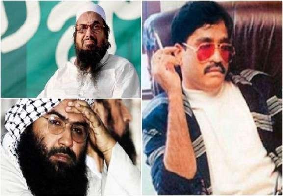 Hafiz Saeed, Masood Azhar and Dawood Ibrahim declared