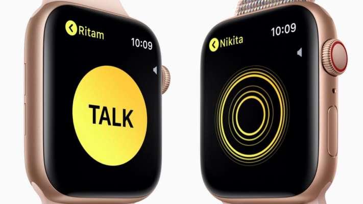 Apple Watch's Walkie Talkie bug allowed users to eavesdrop