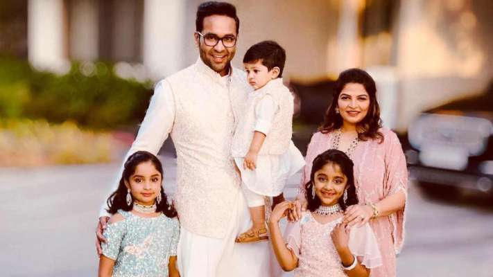 Vishnu Manchu and his wife Viranica blessed with a baby girl