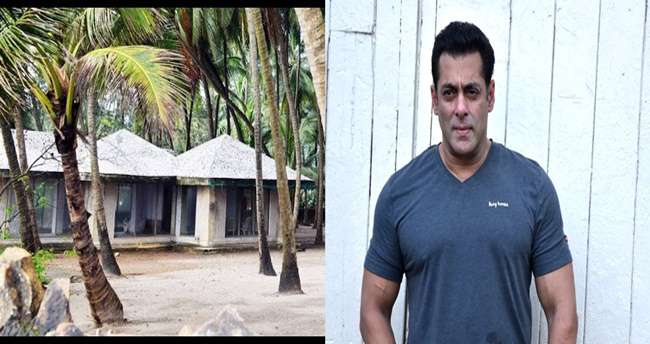 Dressed in plain clothes, officials then reached Salman Khan's bungalow where they spotted Rana.