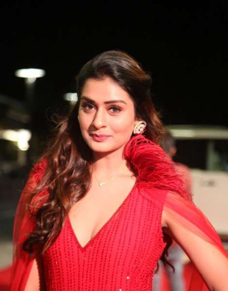 Hot Red Payal Rajput Stills From SIIMA Awards 2019 Red